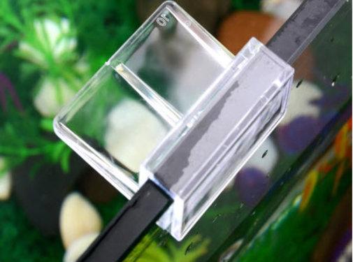 Buyatjohn Glas Clip voor het bevestigen op een glazen aquariumrand