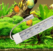 Aquarium led verlichting alle lengtes (25 t/m 200 cm)  dubbele led strip waterdicht (5 kleuren) Prijs vanaf: