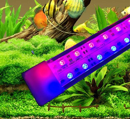 Aquarium led verlichting (Rode en Blauwe LEDS) (dubbele ledstrip) alle lengtes waterdicht. Scroll naar beneden voor de lengtes boven de 125 cm.