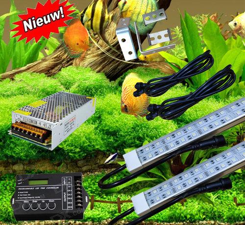 Buyatjohn Zoetwater  RGBW set (diverse maten) (scroll naar beneden voor een volledige productbeschrijving)