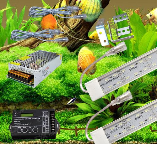 Buyatjohn Zoetwater verlichting sets (set met ledbalken groter dan 175 cm kunnen alleen opgehaald worden in Rijen)