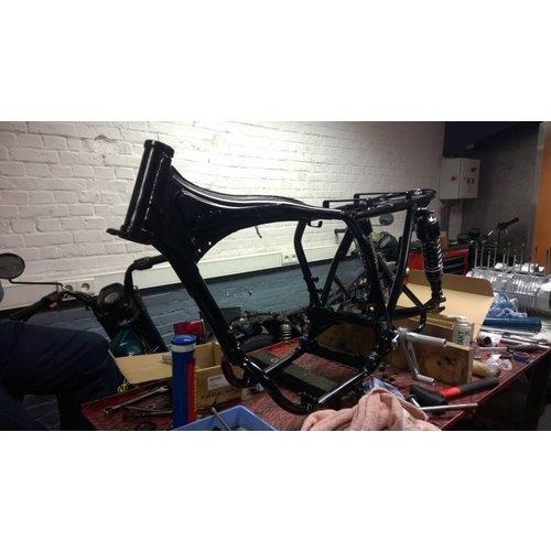 Emgo Black Cafe Racer Shocks Type 2