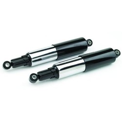 Pair of Fully Shrouded Cafe Racer or Classic Shocks. Available in 305 and 325mm.