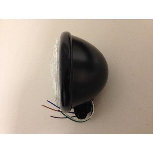 5,75 inch Bates Koplamp Black Onder Montage