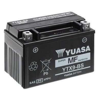Yuasa YTX9-BS  Accu Onderhoudsvrij