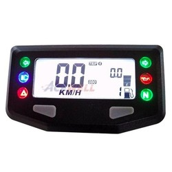 Digital Dash KM/H ACE-254 Black