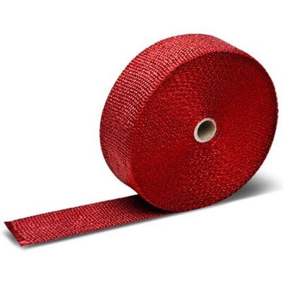 """MCU 25FT x 2"""" Red Exhaust Wrap"""