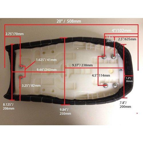 MCU Tuck N' Roll Brat Seat Zwart 18