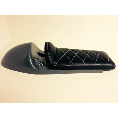 C.Racer Cafe Racer Seat Diamond Stitch Black Type 27