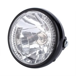 """6.5"""" Halogen H4 Headlight with integrated Turn Signals"""