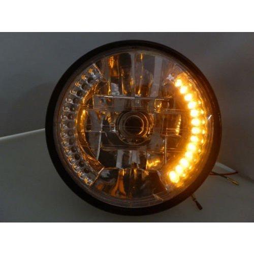 """MCU 6.5"""" H4 Koplamp met 26 LEDs Knipperlichten"""
