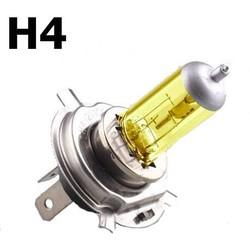 Yellow H4 Oldskool HID Light 90W