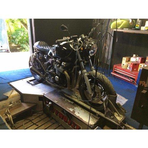 Diamond Stitch Cafe Racer Seat Black 25