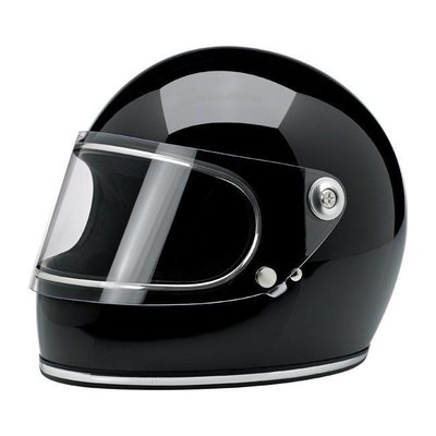 Biltwell Gringo S Gloss Black (with screen)