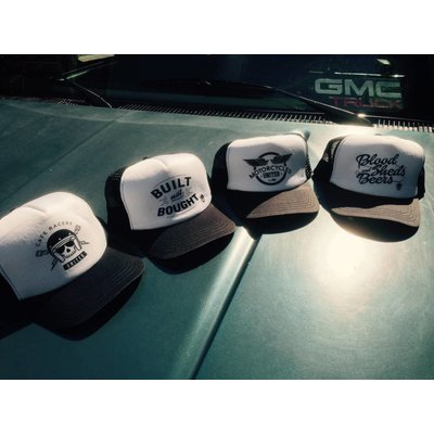 MCU Trucker Caps Black & White