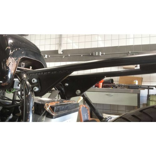 Wimoto BMW R65 R80 R90 Subframe Monoshock Gecoat Chromoly