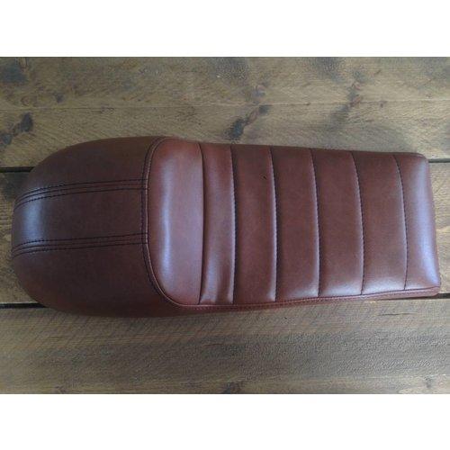 C.Racer Cafe Racer Sitzbank Tuck 'N Roll Stitch Chocolat Type 76