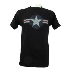 Air Force Stars & Bars Black