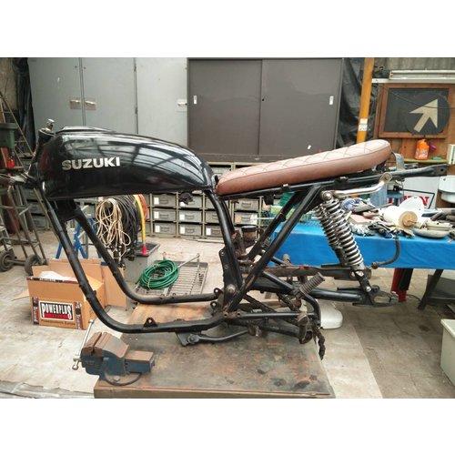 C.Racer Brat Sitzbank Diamond Vintage Braun Lang 62