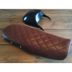 CX500 Seat Diamond Vintage Brown 80