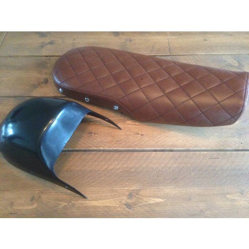 C.Racer CX500 Seat Diamond Vintage Brown 80