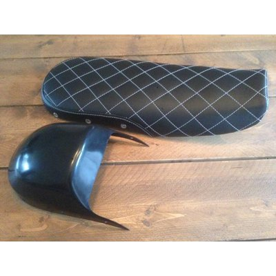 C.Racer CX500 Seat Diamond Black 83