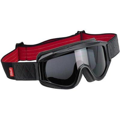 Biltwell Overland Goggle Schwarz / Rot