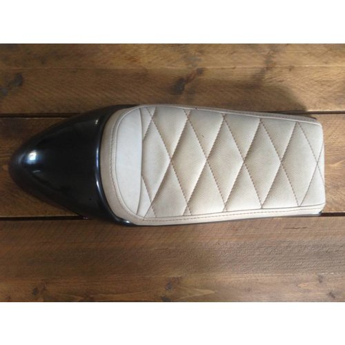 C.Racer Cafe Racer Seat Pale Brown 87