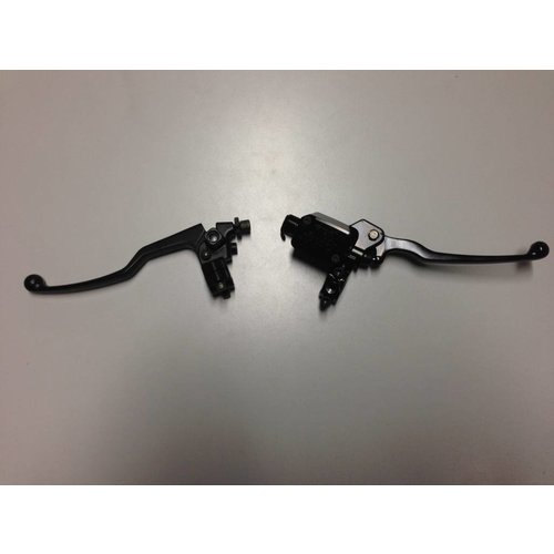 Koppelingshendel Zwart + Sensor