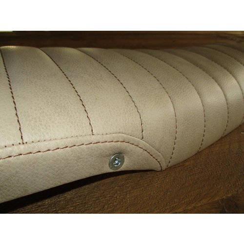C.Racer CX500 Seat Tuck N' Roll Washed Brown 63