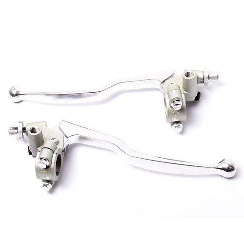 Kupplung- & Bremshebel Set Aluminium 22MM