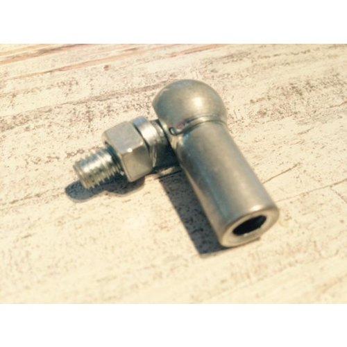 Kogelgewricht DIN 71802 AS Staal Elektrolytisch verzinkt M6