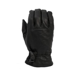 Leather Oldschool Gloves Black