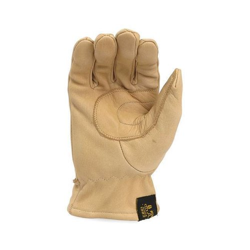 Leather Oldschool Gloves Sand
