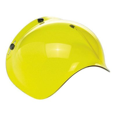 Biltwell Yellow Bubblevisor Windschild für Jethelm