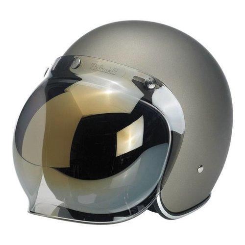 Biltwell Gold Mirror Bubble Visor