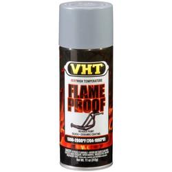 Flameproof Mat Zilver