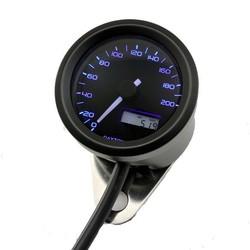 48MM Velona Speedo 200km/h Black