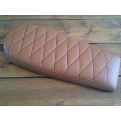 Diamond Brat Seat Light Brown Wide 70