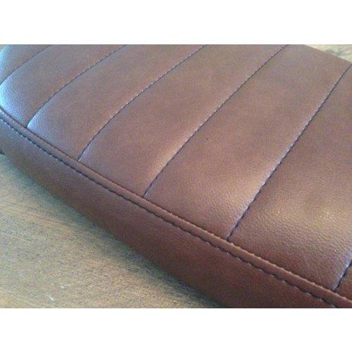 C.Racer Brat Seat Tuck 'N Roll Vintage Brown Wide 71