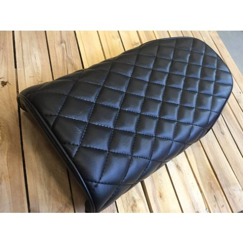 Diamond Stitch Brat Seat Zwart 67