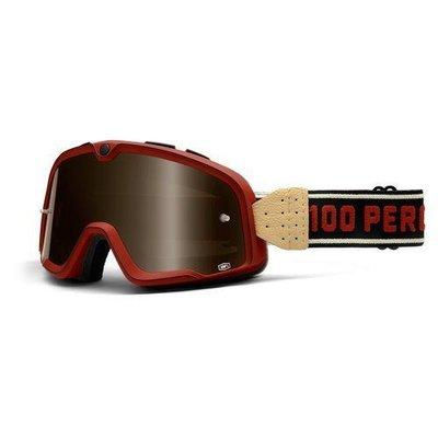100% Die Barstow Legend Burgund Bronze Goggle