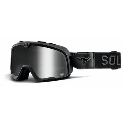 100% The Barstow  Solitario Silver Goggle