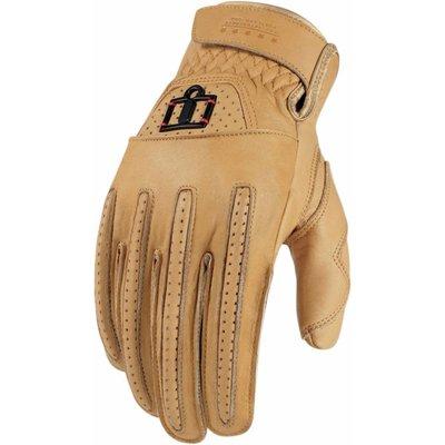 ICON One Thousand Rimfire Gloves Tan
