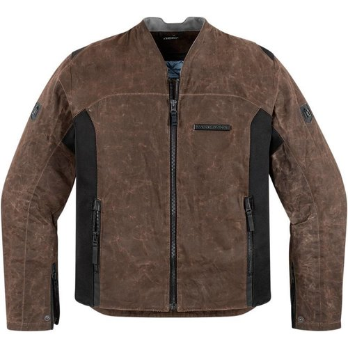 ICON One Thousand Oildale Brown Jacket