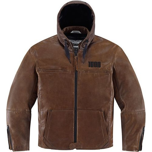 ICON One Thousand The Hood Brown Jacket