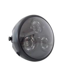 "6"" 3 Bulb Projector Light Matte Black"