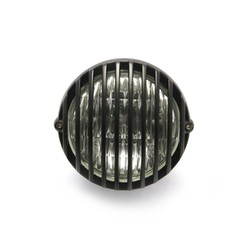 "4.5"" Prison Koplamp Bottom Mount Zwart"