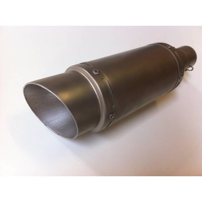 "Stainless GP Silencer ""Extra Raw"""