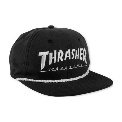 Thrasher Snapback - Logo Rope